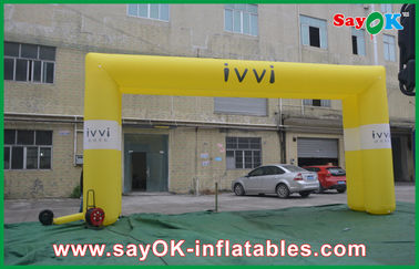 Chiny Big Square Inflatable Arch Rental Logo Print For Advertising dostawca