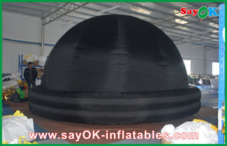 Chiny Education Mobile Planetarium Inflatable Black Air Dome Średnica 5m dostawca