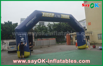 Chiny 0.45mm Giant Pvc Inflatable Archway Inflatable Gate Advertising dostawca