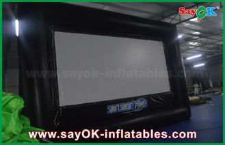 Chiny 6 X 3,5 m Pvc / Oxford Cloth Protable Film Inflatable Movie Screen for Rental dostawca