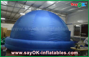 Chiny Indoor Custom Kids Inflatable Planetarium Small Dome Shaped Projector Cloth dostawca