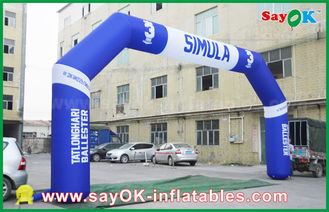 Chiny PVC Outdoor Event Dmuchany łuk, Sports Finsh Inflatable Finish Arch dostawca