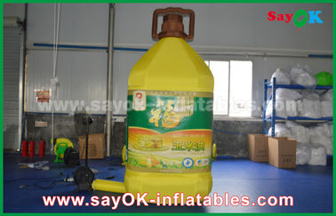 Chiny 3mH Inflatable Bottle Custom Inflatable Products For Corn Oil Reklama komercyjna dostawca