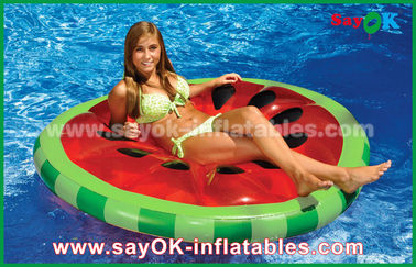 Chiny Yellow / Red / Fruit Slice Pool Float Raw Inflatable Pool Toys for Swimming dostawca