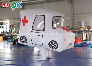 Chiny Giant Custom Inflatable Products Ambulance Model do promocji dostawca