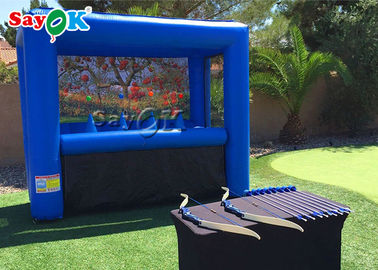 Kids Inflatable Sports Games Hoverball Archery / Interesting Inflatable Shooting Game Archery Tag Targets