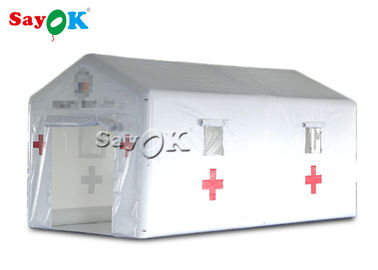 White 6x3x3mH Temporary Emergency Inflatable Medical Tent