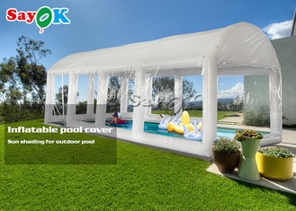 Custom Airtight PVC Inflatable Swimming Pool Cover Tent