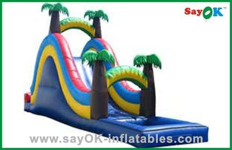 Chiny Backyard Small Inflatable Bouncer Slide dostawca