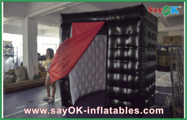 Chiny Two Doors Custom Inflatable Products Tkanina Oxford / PVC Outdoor Exhibition Namiot Photobooth dostawca