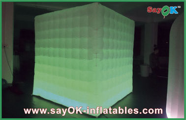 Chiny Oświetlenie LED Inflatable Portable Photo Booth For Holiday Decorations dostawca