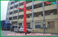 Chiny Commerical Red Sky Air Dancer, Inflatable 4M Costume Dancing Man fabryka