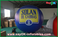 Chiny Odkryty 2.5M dmuchany balon Helu Blue Zeppelin PVC Pageant Event fabryka