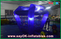 Chiny Oświetlenie Protable Inflatable Cash Cube Money Booth Game for Promotional fabryka