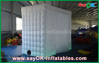Chiny White Arc - Shaped Portable Nadmuchiwane Photo Booth Shell 4 X 2.4 X 2.4m ROHS fabryka