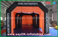 Chiny 8 x 4m Big PVC Commercial Grade Inflatables Car Spray Booth For Waterproof fabryka
