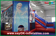 Chiny Theme Fairy Tale Snow Kids Inflatable Bounce / Blow Up Bounce House fabryka