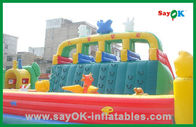 Chiny Ginat Commercial Inflatable Bouncer / Inflatable Slide / Inflatable Combo dla dzieci fabryka