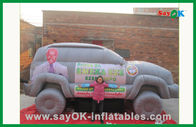 Chiny Inflatable Car Custom Inflatable Products For Outdoor Advertising fabryka