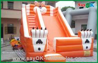 Chiny Inflatable Bouncer And Slider Funny Water Park Inflatable Combo fabryka