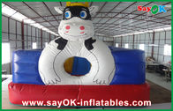 Chiny Śliczne kolorowe PVC Materail nadmuchiwane Bounce Fun City For Kids SGS Approved fabryka