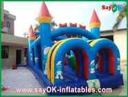 Chiny Family Inflatable Bounce CE Certificated Blower Cartoon Model fabryka