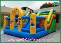 Chiny Mickey Mouse Castle Bounce House Inflatable For Family Entertainment fabryka