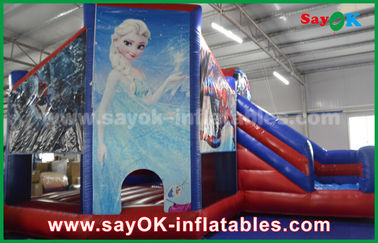 Theme Fairy Tale Snow Kids Inflatable Bounce / Blow Up Bounce House