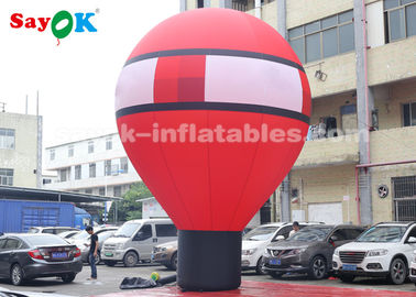 Oxford Cloth 7m Falling Earth Inflatable Balloon do dekoracji na zewnątrz