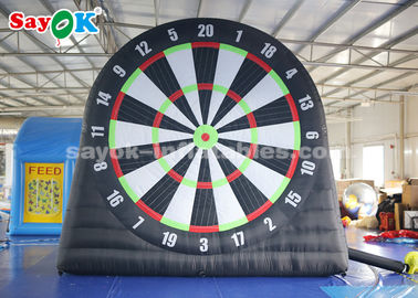 4m 210D Oxford Cloth Inflatable Soccer Darts Board do gier sportowych