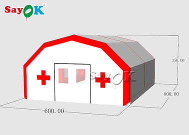 Chiny Customized  Outdoor Medical Tent Hospitals  /Mobile Inflatable Emergency Hospital Tent fabryka