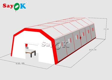 Chiny Factory Direct Sales Giant Outdoor PVC Mobile Isolation Hospital Temporary Hospital Tent fabryka