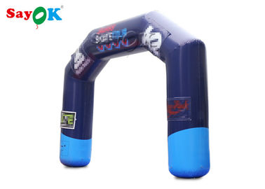 Outdoor Sports Racing Games Inflatable Finish Line Arch / Blow Up Entrance Arch